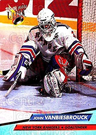 Amazon.com  (CI) John Vanbiesbrouck Hockey Card 1992-93 Ultra (base ... 411b0e5ac
