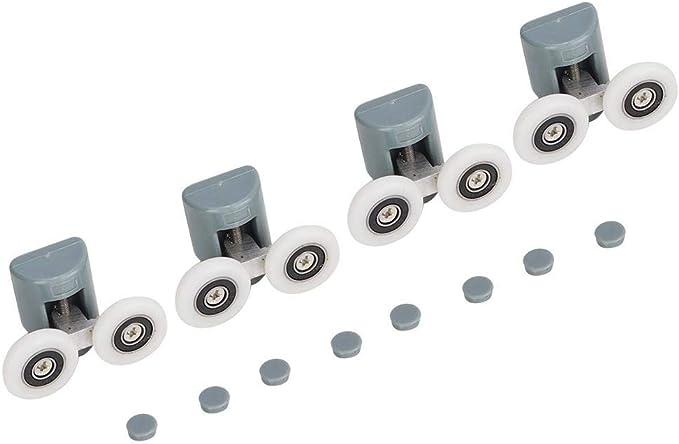 25 mm // 27 mm Raddurchmesser 25mm-1pcs Wie abgebildet Rollen Duscht/ürl/äufer Badezimmerzubeh/ör Duscht/ür-Roller Duscht/ür-Rad Ersatzteile