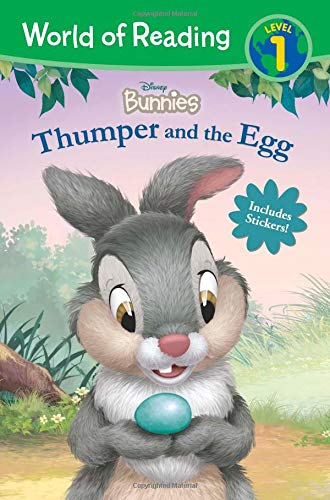 - World of Reading: Disney Bunnies Thumper and the Egg (Level 1 Reader)
