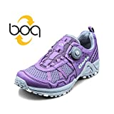 Clorts Women's Boa Runner Lightweight Fashion Sneakers Athletic Speed Running Shoe Purple 3F013F US7.5