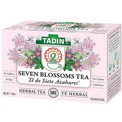 Tadin Seven Blossoms Tea To bed Time 24 Bags - Te Para Dormir ()