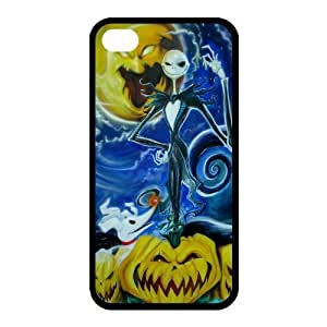 Customize Cartoon Movie Nightmare Before Christmas Back Case for iphone 4 4S JN4S-2005