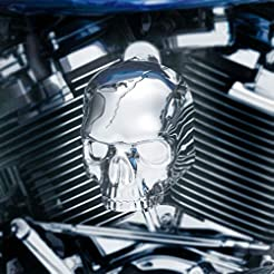 Kuryakyn Skull Horn Cover Compatible for...