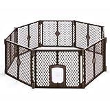 MyPet Petyard Passage, 8-Panel Pet Containment with Swinging Door