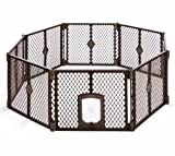 Petyard Passage, 8-Panel Pet Containment with Swinging Door