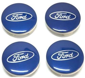 Ford 4 x Pac Ruedas Centro de Cap 54 MM C-MAX/Galaxy / S-MAX/Focus / Kuga/Mondeo / Fiesta: Amazon.es: Coche y moto