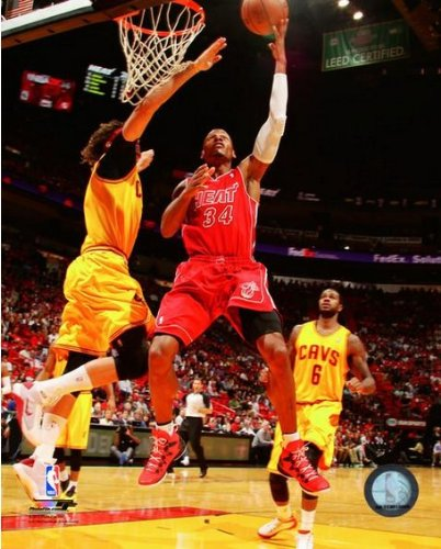 - Ray Allen Miami Heat 2013-2014 NBA Action Photo 8x10