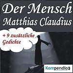 Der Mensch   Matthias Claudius
