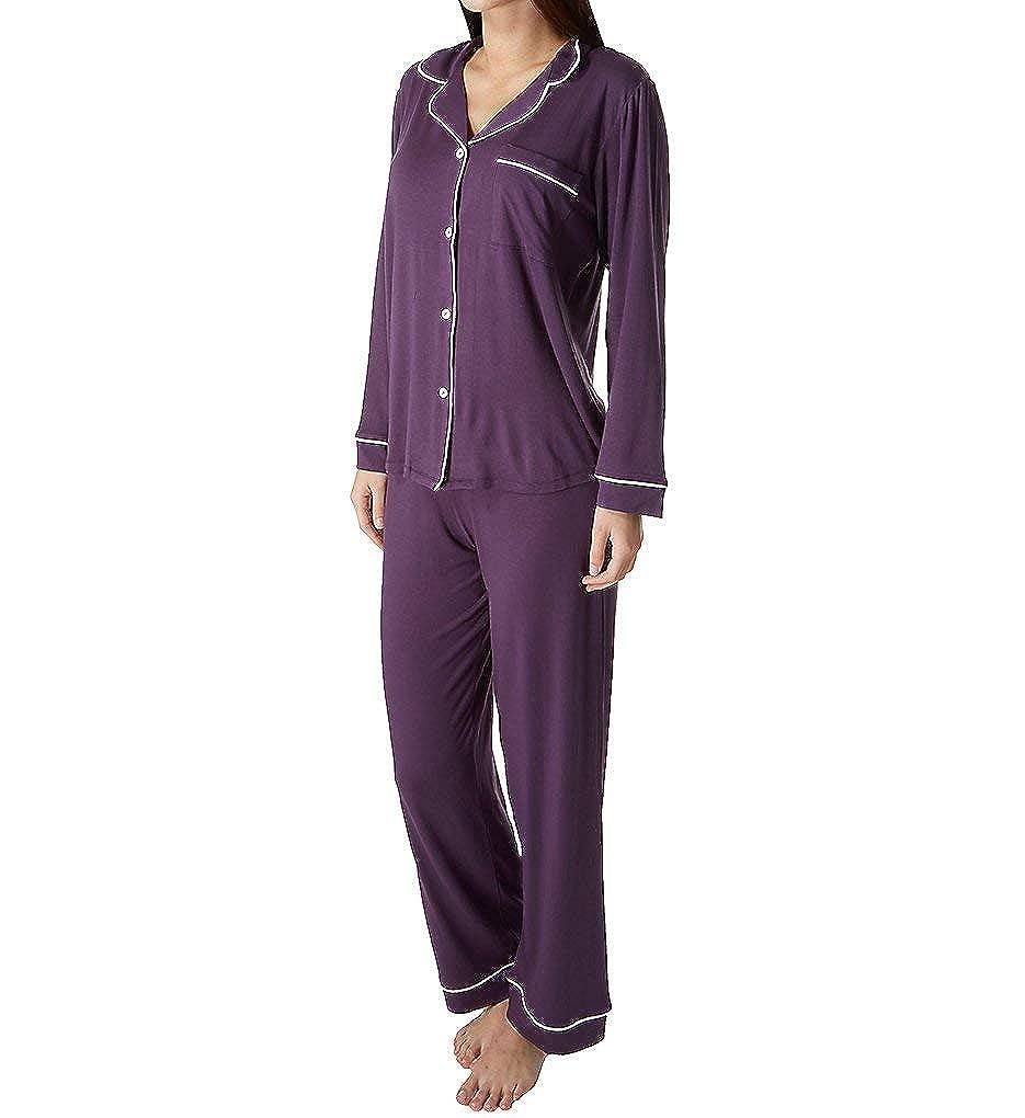 Eberjey Women s Gisele Two-Piece Long Sleeve   Pant Pajama Sleepwear Set at  Amazon Women s Clothing store  878172ac474