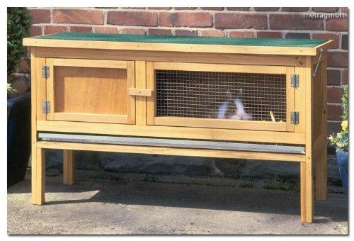 Hasenstall-draußen-Kaninchenstall-2