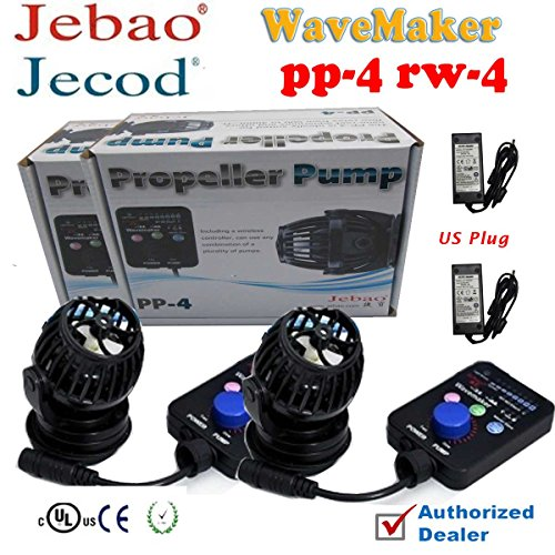 2sets Jebao PP4 RW4 Aquarium Fish Tank Controllable Wavemaker Powerhead Coral Reef