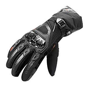 Amazon.com: TAGVO Winter Motorcycle Gloves Warm Windproof