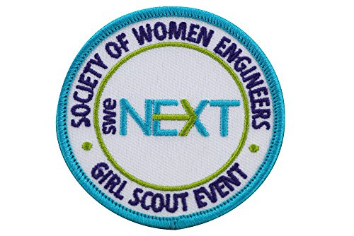 SWENext Girl Scout Event Patches (10 Pack)