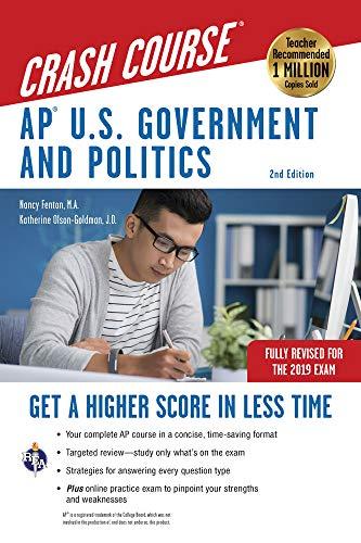 Pdf Test Preparation AP® Government & Politics Crash Course 2nd Ed. (Advanced Placement (AP) Crash Course)