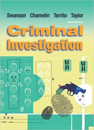 Amazon criminal investigation 9780073212784 charles swanson amazon criminal investigation 9780073212784 charles swanson neil chamelin leonard territo robert w taylor books fandeluxe Images