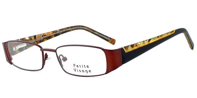 Amazon.com: Petite by Visage Eyewear Womens Designer Eyeglasses 100 ...