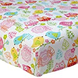 Love Birds Fitted Sheet by Nojo