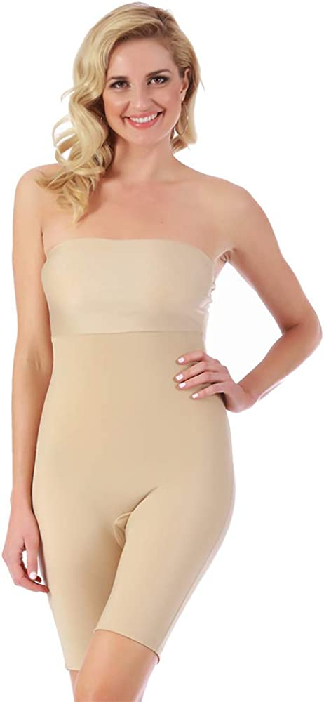 InstantFigure Womens service Compression Shapewear All stores are sold Bandeau Strapless Tum
