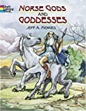 img - for Norse Gods and Goddesses (Dover Coloring Book) book / textbook / text book
