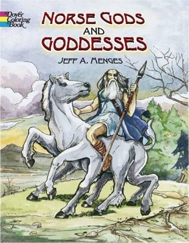Norse Gods and Goddesses (Dover Coloring Book)