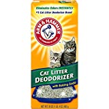ARM & HAMMER Maximum odor control for Home Everyday Cat Litter Deodorizer Powder, 20oz