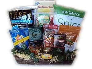 healthy gift basket for men grocery gourmet. Black Bedroom Furniture Sets. Home Design Ideas