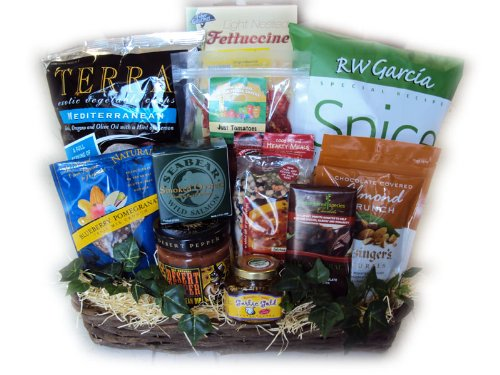 Healthy Gift Basket for Men by Well Baskets