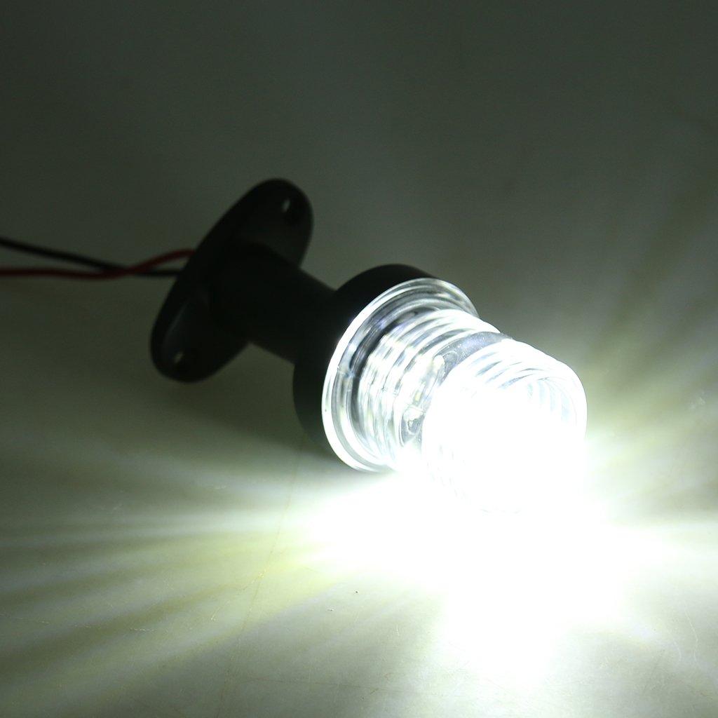 Boat//Stern//Navigation//Masthead Homyl 12v 33 LED 5 Anchor White Light