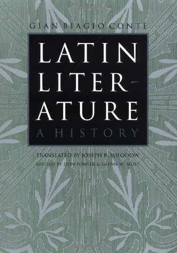 Latin Literature: A History