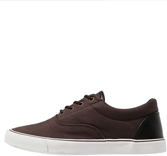 lattina Megalopoli Lavoro duro e faticoso  YOURTURN Sneakers da Uomo in Pelle Marrone, Taglia 46: Amazon.it: Scarpe e  borse