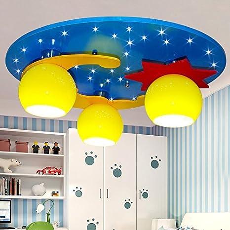 Las luces del techo para dormitorios estrellas Luna ...