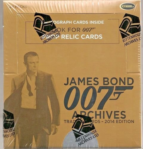 Rittenhouse Archives James Bond Archives 2014 Edition - Factory Sealed Box with 2 Autographs
