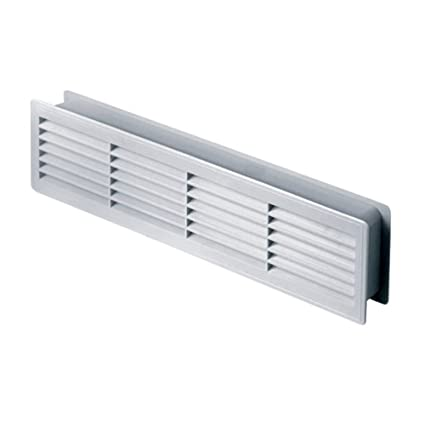 Door Air Vent Grille 460x135mm 181x53inchtwo Sided White