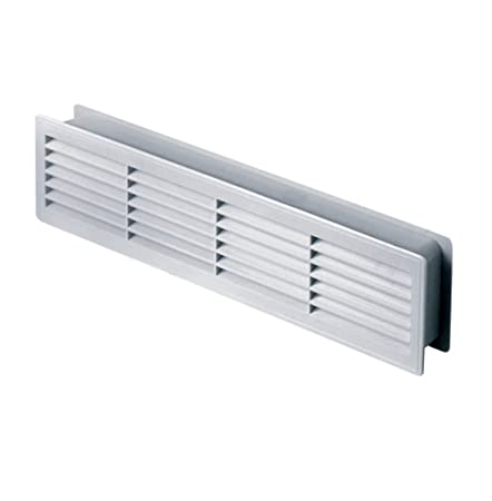 Door Air Vent Grille 460x135mm (18.1x5.3inch)Two Sided \u0026quot;WHITE\u0026quot  sc 1 st  Amazon UK & Door Air Vent Grille 460x135mm (18.1x5.3inch)Two Sided \
