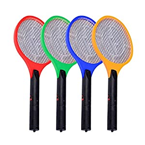 """20""""X8.1/4""""Electric Fly Swatter Racket Large Mosquito Bug Insect Zapper Light Led Rechargeable Easy Carry Brand New"""