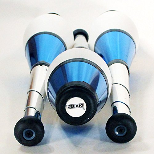 Zeekio Pegasus Juggling Clubs - Set of 3 (All Blue)