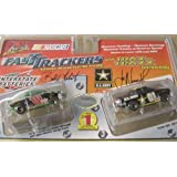 Life Like #18 Interstate Batteries and #01 U.S. Army Fast Trackers HO Slot Car Twin Pack by Life Like