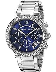 Michael Kors Women's Parker Silver-Tone Watch MK6117