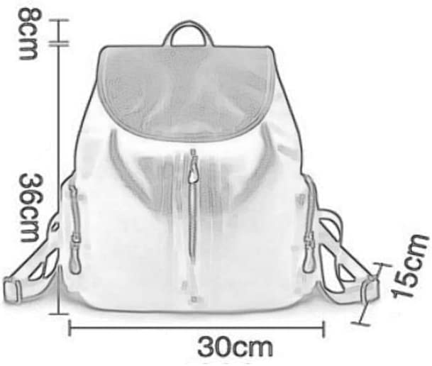 Womens Backpack Leather Fashion Multi-Function Casual Ladies Backpack Large Capacity College Wind Bag Travel Backpack Multipurpose Daypacks