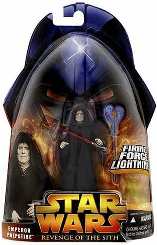 Amazon Com Star Wars Episode Iii 3 Revenge Of The Sith Emperor Palpatine Firing Force Lightning Figure 12 Toys Games