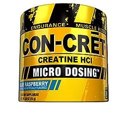 ProMera Health CON-CRET Creatine HCL Supplement, Blue Raspberry, 0.83 Ounce