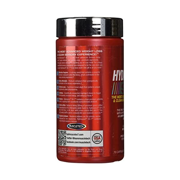 Muscletech Hydroxycut SX-7 Weight Loss Capsules