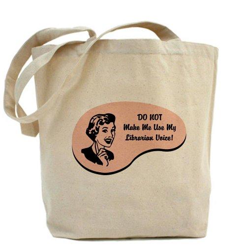 CafePress Bag-Borsa Tote Librarian Voice