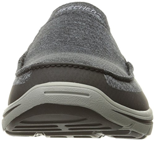 Black Skechers Moven Baskets Gray Hommes Harper Toile rBBzXPq