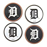 Detroit Tigers MLB Golf Ball Markers 4-Pack