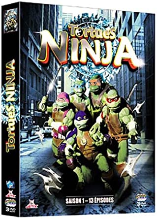 tortues ninja saison 1 coffret 3 dvd