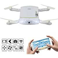 Dazhong Foldable Quadcopter Drone Spacecraft with WIFI Control Aerial Video 2.0MP HD Camera Drone