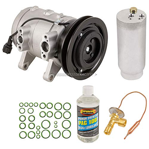 AC Compressor w/A/C Repair Kit For Nissan Frontier & Xterra - BuyAutoParts 60-81205RK NEW ()