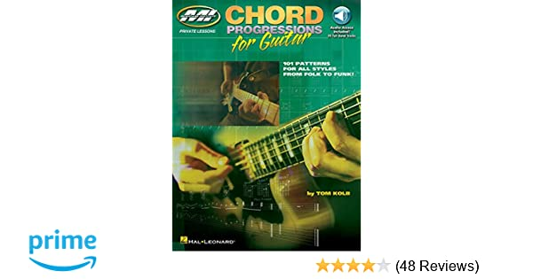 Amazon com: Chord Progressions for Guitar: Private Lessons Series