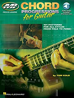 Chord Progressions for Guitar: Private Lessons Series (0634036289)   Amazon Products